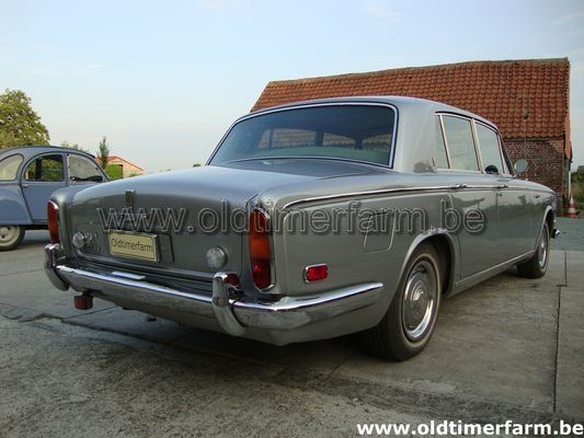 Rolls Royce Silver shadow Grey 1970 (1970)
