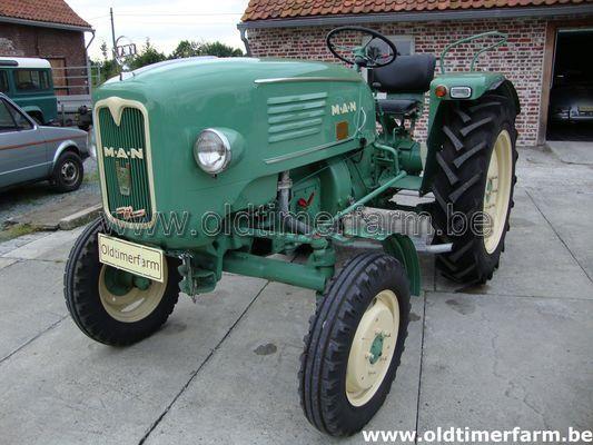 Man Tractor Typ 2k3 1960 Verkocht Ref 871