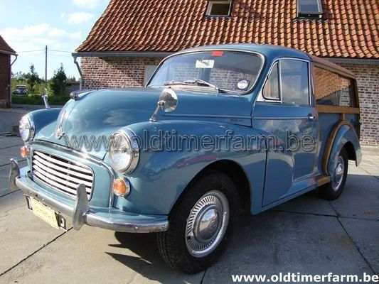Morris Minor Traveller ( Woody) Blue RHD (1960)
