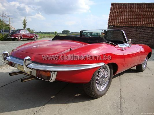 Jaguar E-type Cabriolet 4.2 Series 2 (1968)
