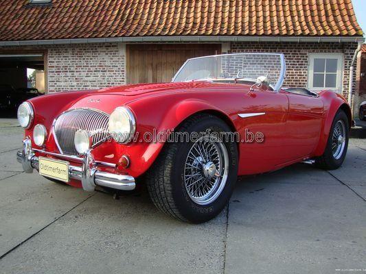 Austin Healey 100 BN 1 JAG 3.8  (1955)