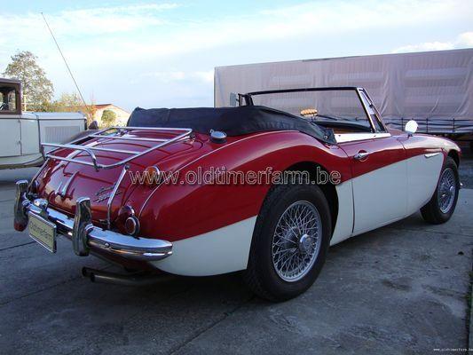 Austin Healey 3000 MK 3  Red/white (1967)