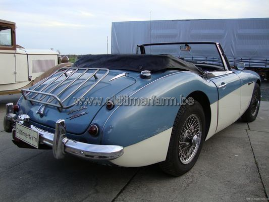 Austin Healey 3000 MK 2  Blue/White (1963)