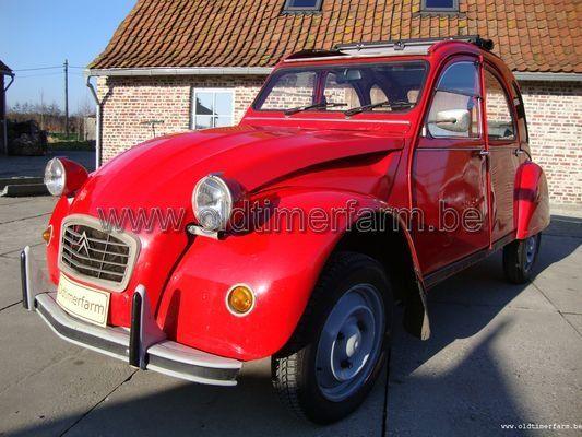 Citroën  2CV 6 Spécial red (1983)
