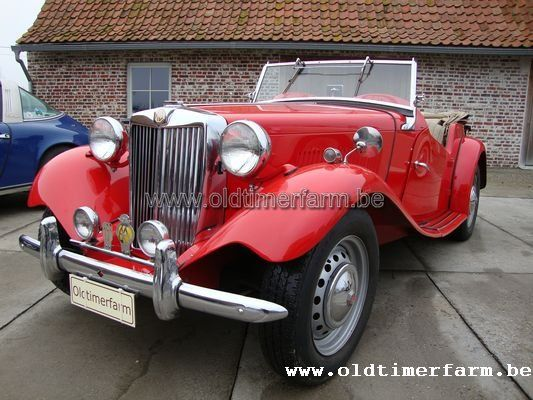MG TD red 1952 (1952)