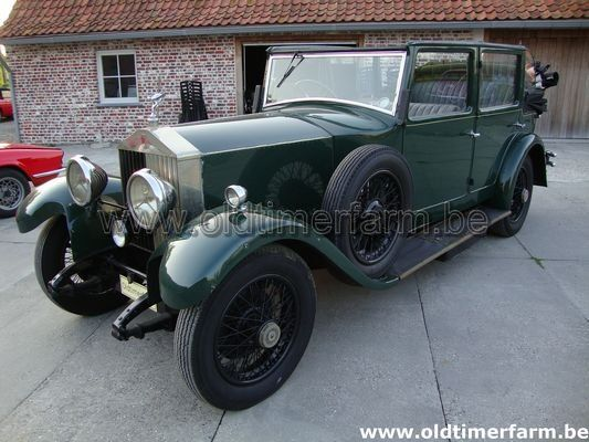 Rolls Royce 20/25 all weather (1930)