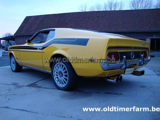 Ford Mustang Fastback 6 cil (1972)