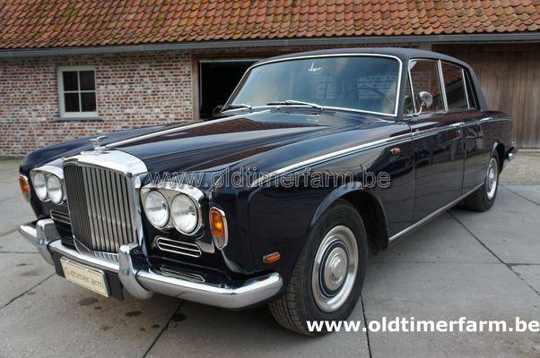 Bentley T1 Dark Blue 1969 (1969)