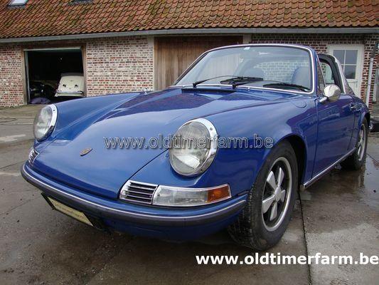 Porsche  911E 2.0 Targa Blue (1969)