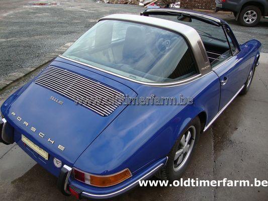 porsche 911e 2 0 targa blue 1969 vendue ref 954. Black Bedroom Furniture Sets. Home Design Ideas