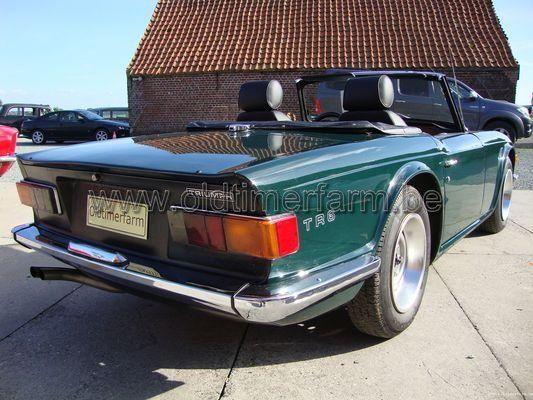Triumph TR 6 Dark Green  (1969)