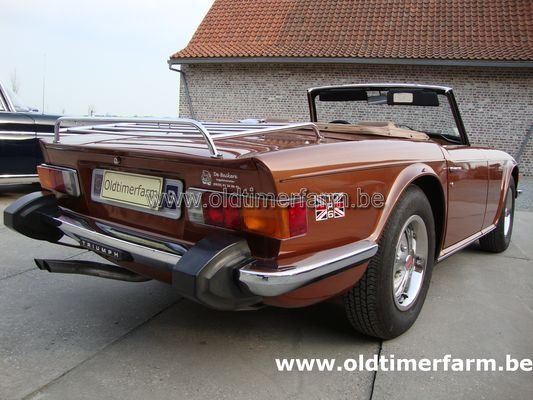 Triumph TR 6 Brown 1975 (1975) verkocht - Ref. 972