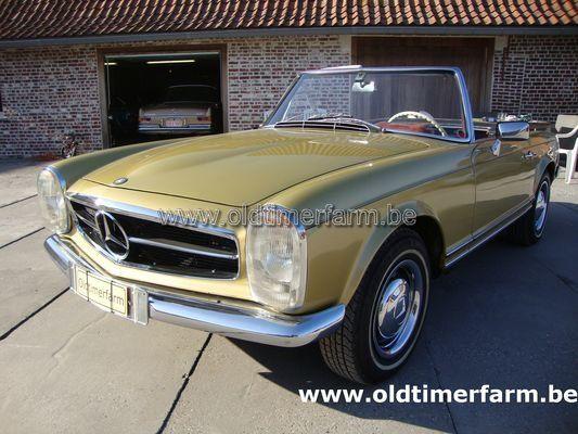 Mercedes-Benz 230SL Olive (1965)