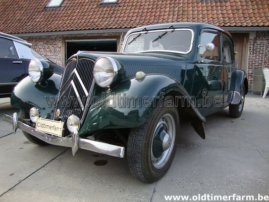 Citroën Traction Green (1949)