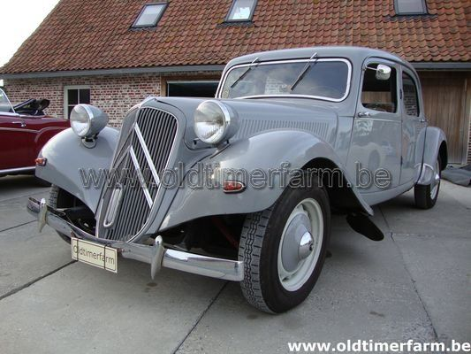 Citroën Traction Normalle Grey (1954)