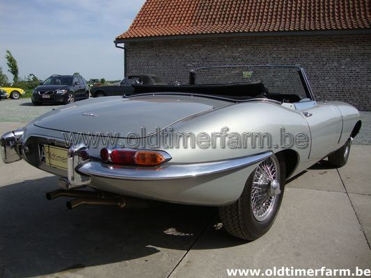 Jaguar E-Type 3.8 Series1 roadster Grey (1963)