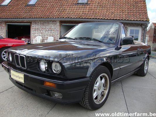 Bmw 325i Cabriolet E30 1991 Verkocht Ref 1022