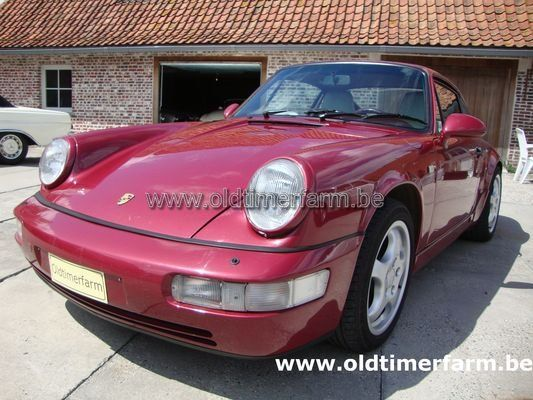 Porsche 911-964  Paars (1990)