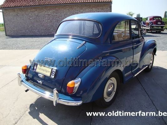 Morris  Minor  1000 2 door Salon Blue (1967)