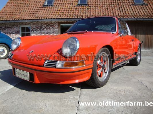 Porsche 911 2.2S - 2.7RS Targa Orange (1970)
