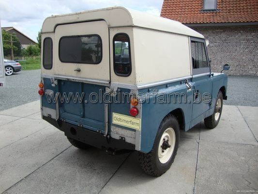 Land Rover Serie 2a 1964 Vendue Ch 121b