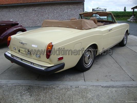 Rolls Royce Corniche Yellow 1974 (1974)