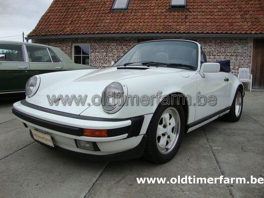 Porsche 911 3.2 Cabriolet  White (1989)