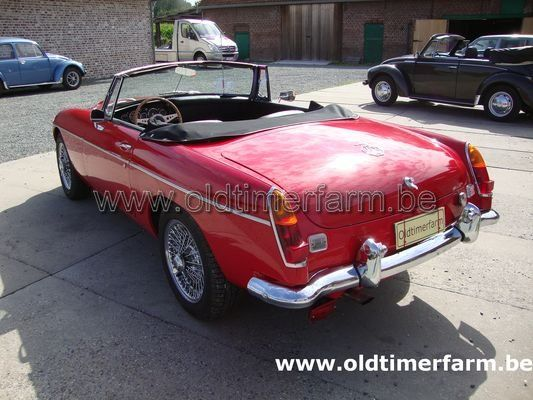 MG C Red  (1968)