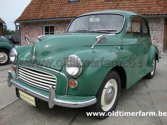 Morris Minor 1000 Green (1966)