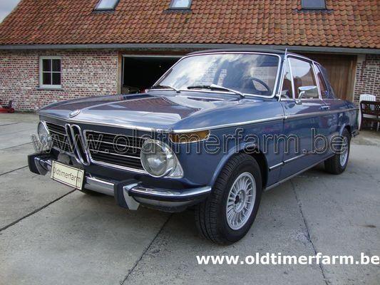 BMW 2002 Bauer Blue (1972)