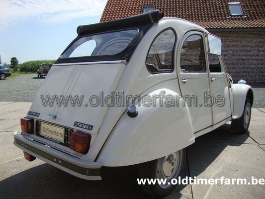 Citroën  2 CV White  1985 (1985)