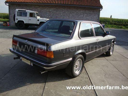 Bmw 323i E21 1982 Vendue Ref 1157