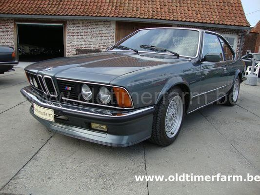 bmw m 635 csi grey 1984 verkocht ref 1155. Black Bedroom Furniture Sets. Home Design Ideas