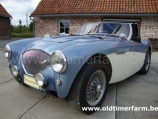 Austin  Healey 100/4 BN 2 Blue-White LM spec (1955)
