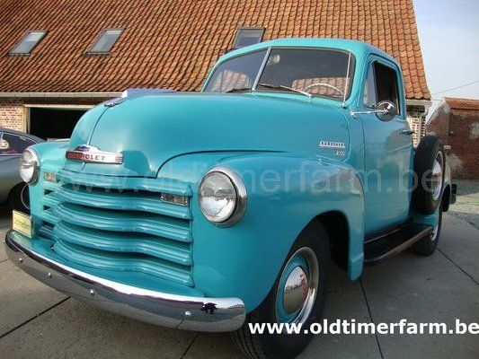 chevrolet 3100 pick up 1953 vendue ref 1187. Black Bedroom Furniture Sets. Home Design Ideas