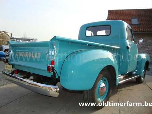 Chevrolet 3100 Pick Up 1953 Sold Ref 1187