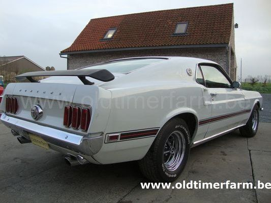 Ford Mustang Coupé Mach 1 White (1969)