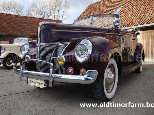 Ford  Deluxe Convertible Coupé Serie 1A  V8/85 (1940)