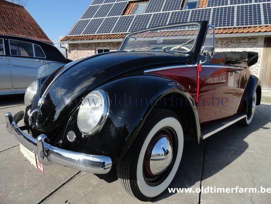 Volkswagen Kever 1200 Cabriolet 1957 Verkocht Ch 1790