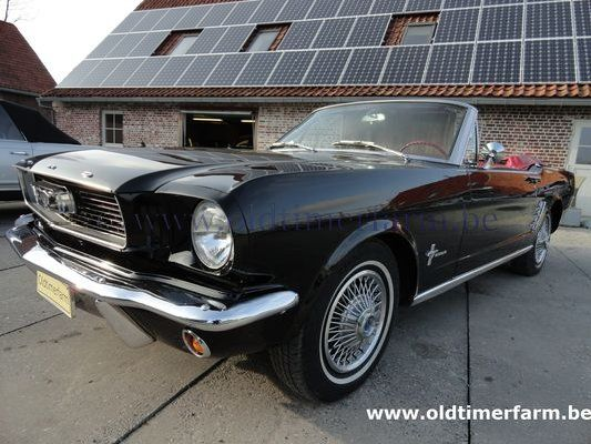 Ford Mustang Cabriolet  Black 1966 6cil. (1966)