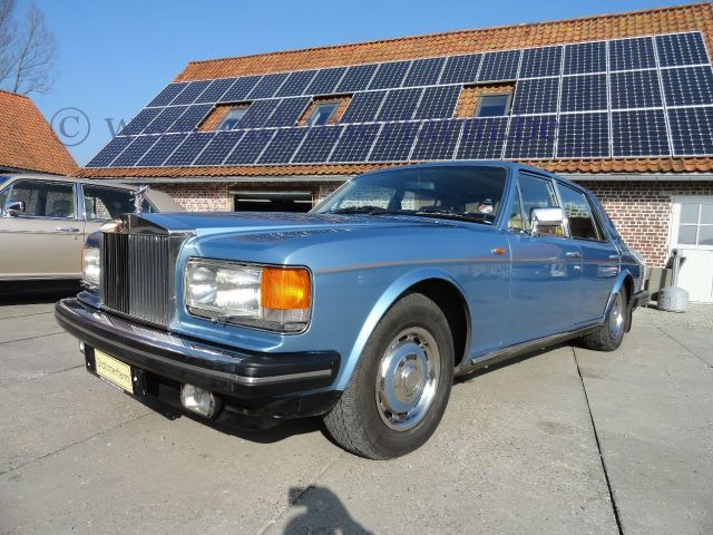 Rolls Royce Silver Spirit Blue 1981 (1981)