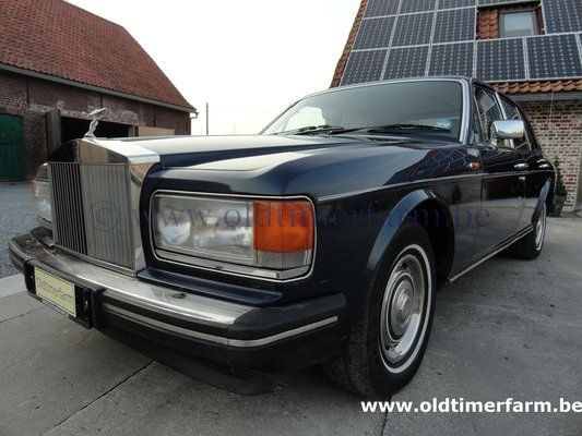 Rolls Royce Silver Spirit Dark blue 1985 (1985)