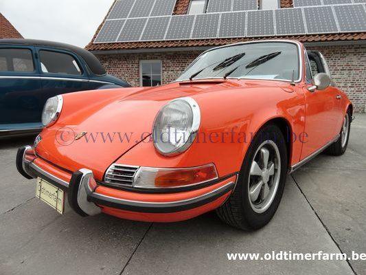Porsche 911 2.2 E oranje Sportomatic 1970 (1970)