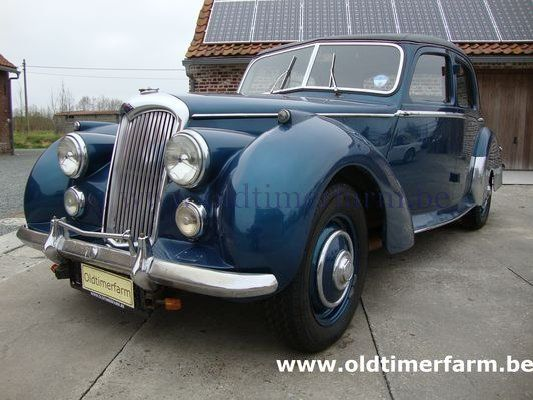 Riley  1500 RME Blue (1954)