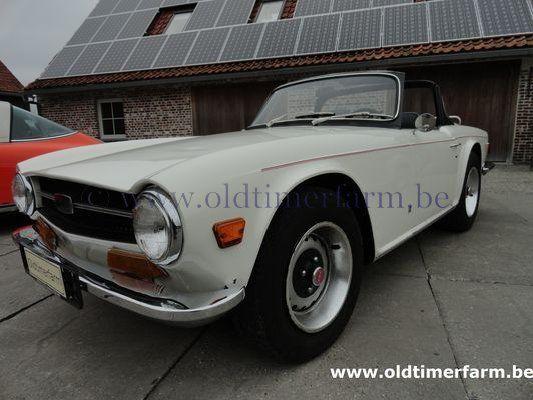 Triumph TR 6 White (1971)