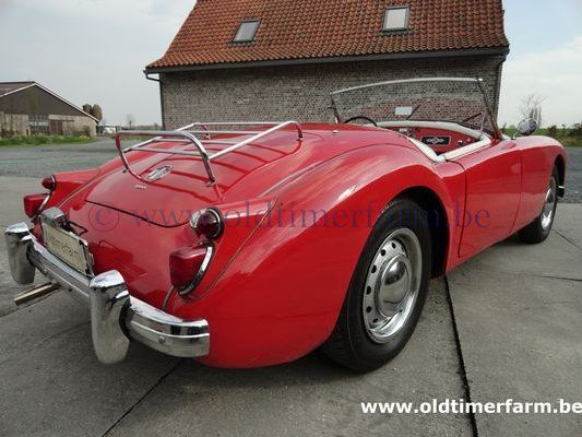 MG A 1600 LHD Red 1960 (1960)