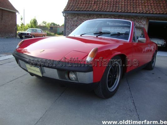 Porsche  VW 914 2.0 4cyl. Red (1971)