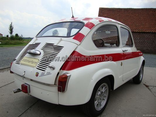 Fiat  600 Abarth Replica '72 (1972)