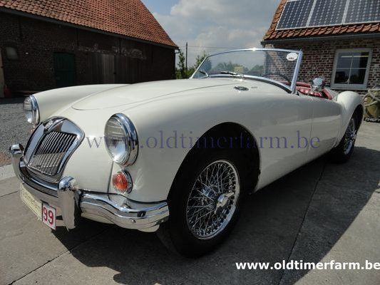 MG A 1600  LHD White 1959 (1959)