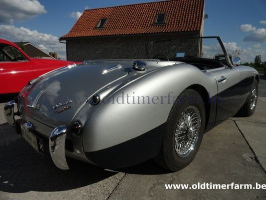 Austin Healey 100/6 MK I Grey/Blue (1959)